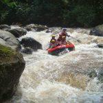 Rafting di Kaliwatu Kota Batu sandi iswahyudi
