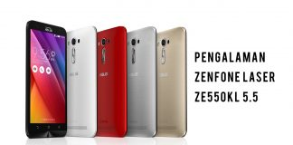 ASUS Zenfone Laser ZE550KL 5.5 sandi iswahyudi