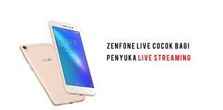 smartphone ASUS Zenfone Live sandi iswahyudi