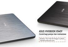 ASUS VivoBook X540Y sandi iswahyudi