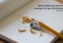 belajar menulis sandi iswahyudi blogger