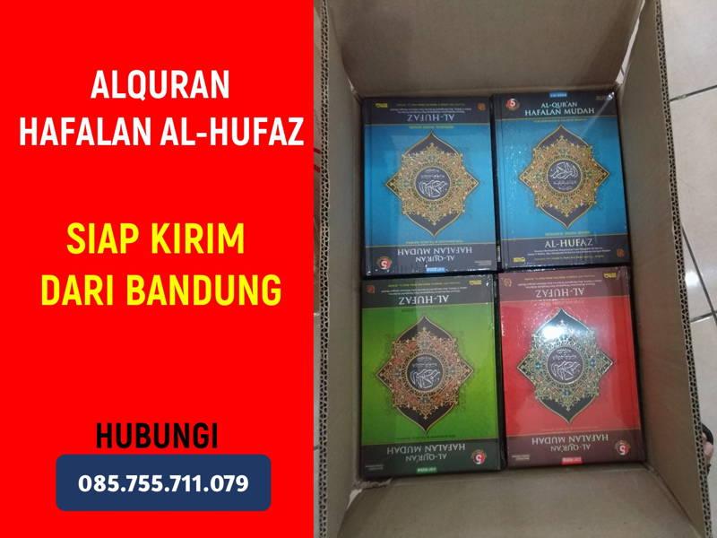 10 Alquran Hafalan Al-Hufaz Dikirim ke Kab. Bandung